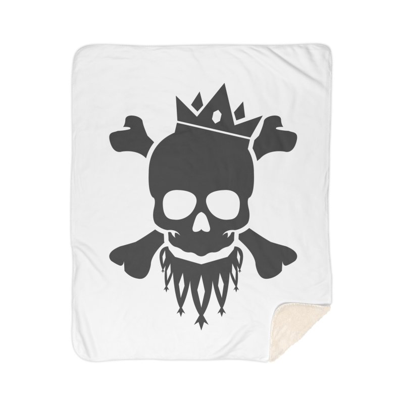 Joker Skull King Home Sherpa Blanket Blanket by Pbatu's Artist Shop