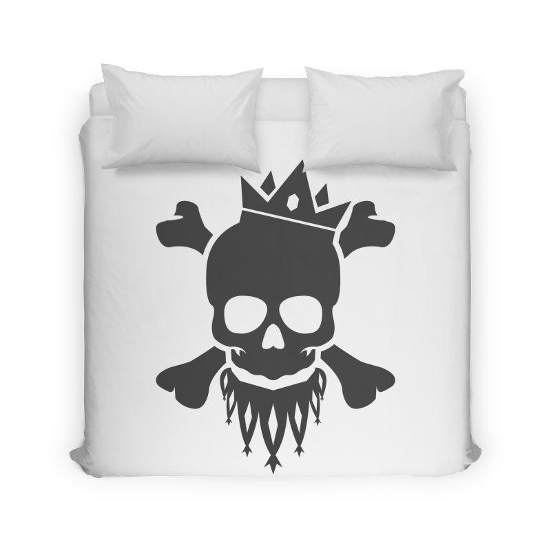Joker Skull King Home Duvet by Pbatu's Artist Shop