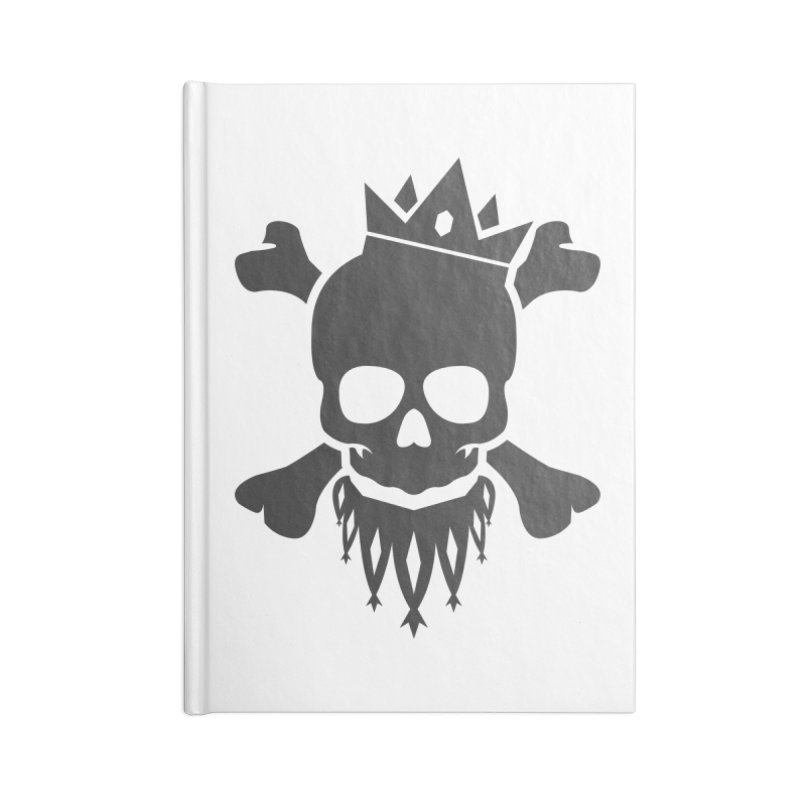 Joker Skull King Accessories Blank Journal Notebook by Pbatu's Artist Shop