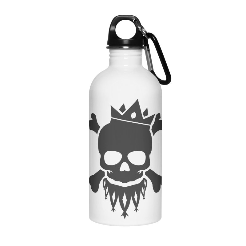 Joker Skull King Accessories Water Bottle by Pbatu's Artist Shop