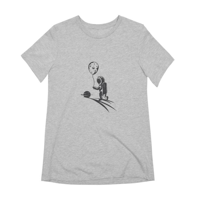Moonman Women's Extra Soft T-Shirt by Pbatu's Artist Shop