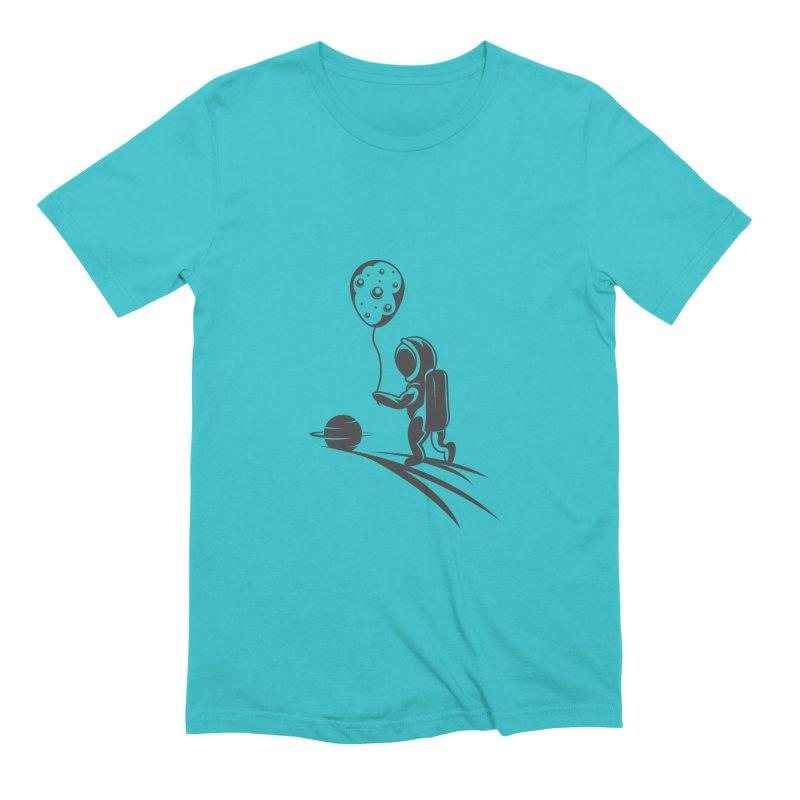 Moonman Men's Extra Soft T-Shirt by Pbatu's Artist Shop