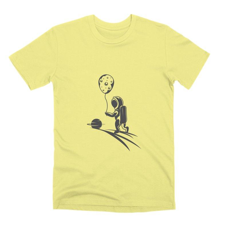 Moonman Men's Premium T-Shirt by Pbatu's Artist Shop