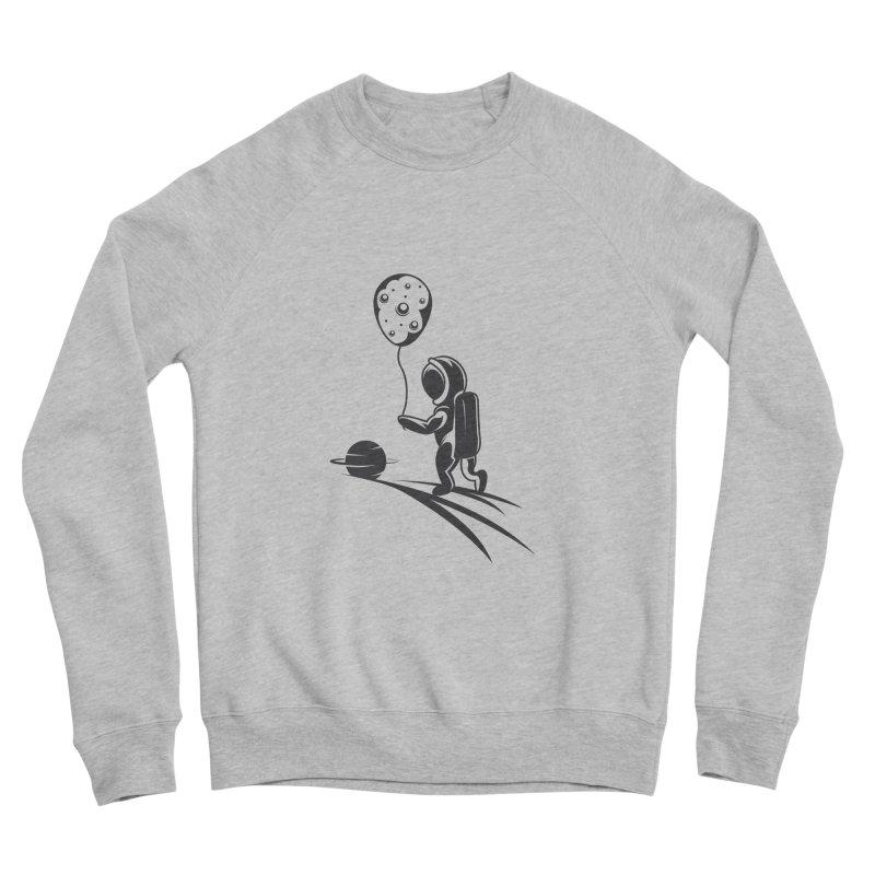 Moonman Men's Sponge Fleece Sweatshirt by Pbatu's Artist Shop