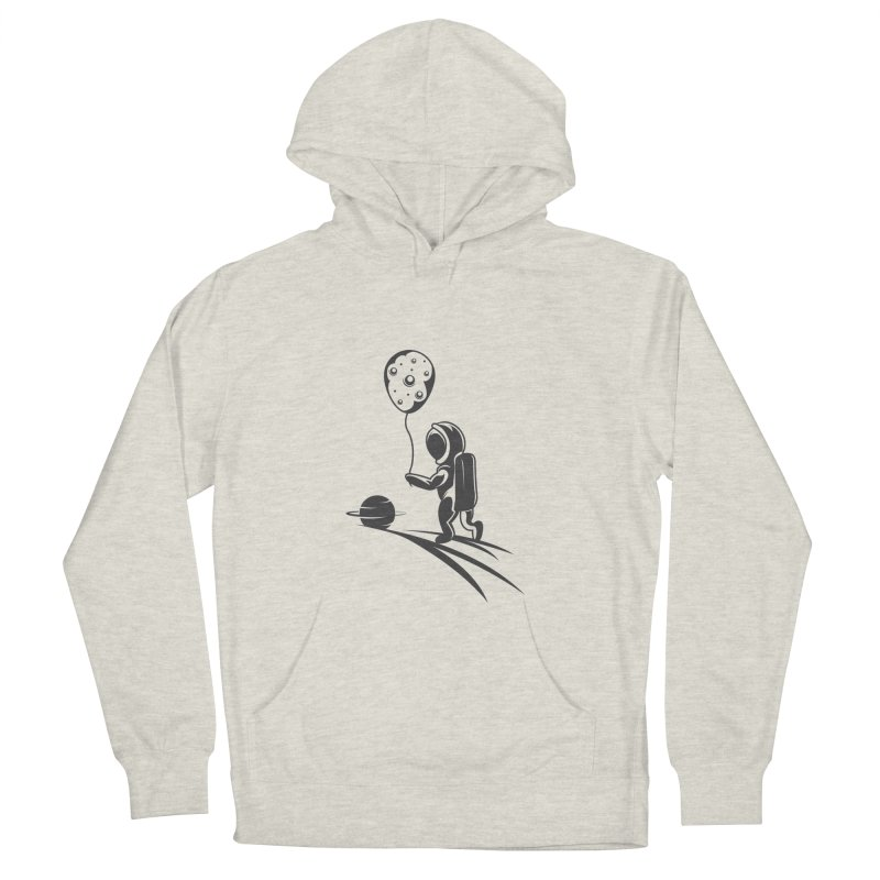 Moonman Men's Pullover Hoody by Pbatu's Artist Shop