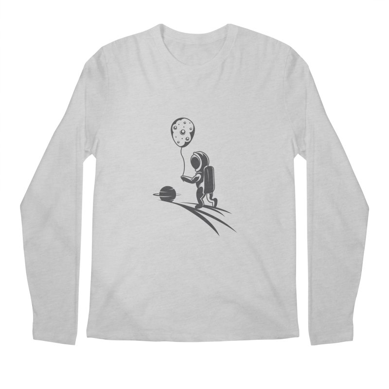 Moonman Men's Regular Longsleeve T-Shirt by Pbatu's Artist Shop