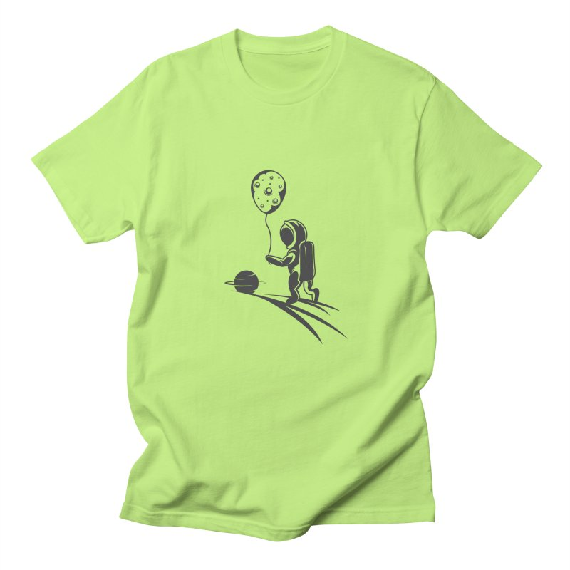 Moonman Women's Regular Unisex T-Shirt by Pbatu's Artist Shop