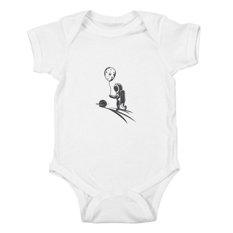 Moonman Kids Baby Bodysuit by Pbatu's Artist Shop