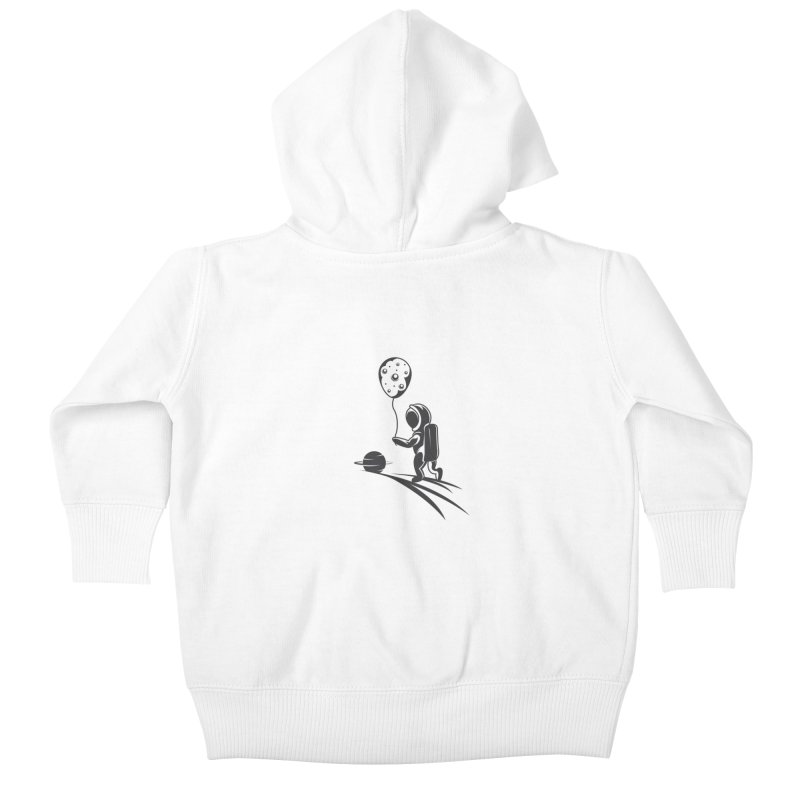 Moonman Kids Baby Zip-Up Hoody by Pbatu's Artist Shop