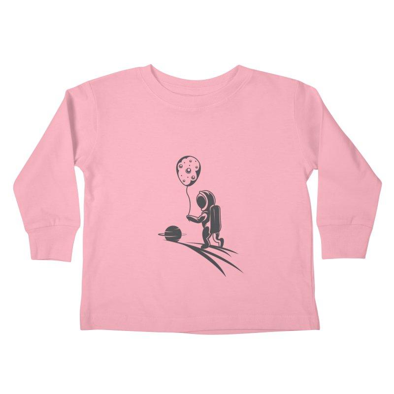 Moonman Kids Toddler Longsleeve T-Shirt by Pbatu's Artist Shop