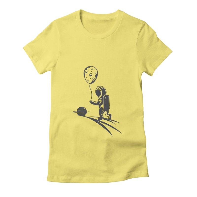 Moonman Women's T-Shirt by Pbatu's Artist Shop
