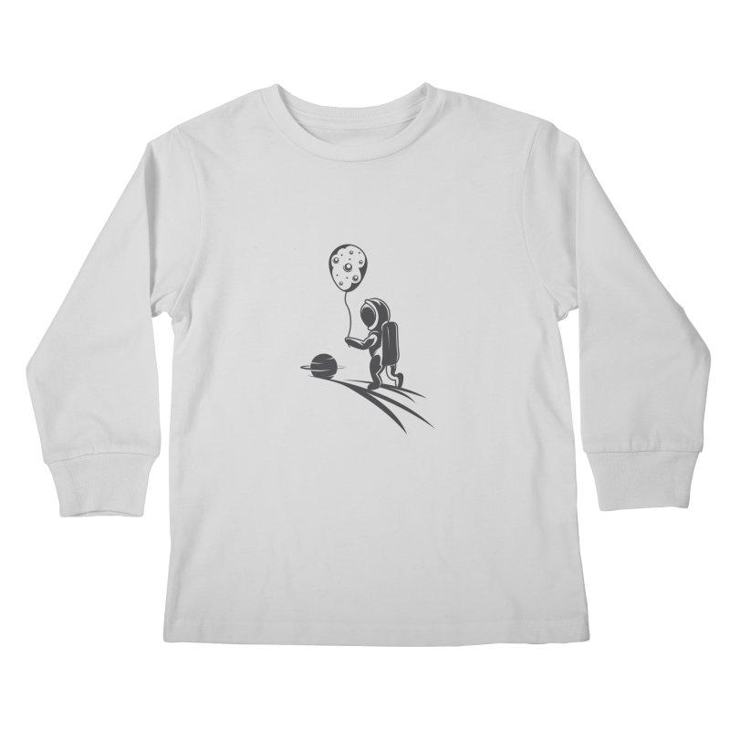 Moonman Kids Longsleeve T-Shirt by Pbatu's Artist Shop