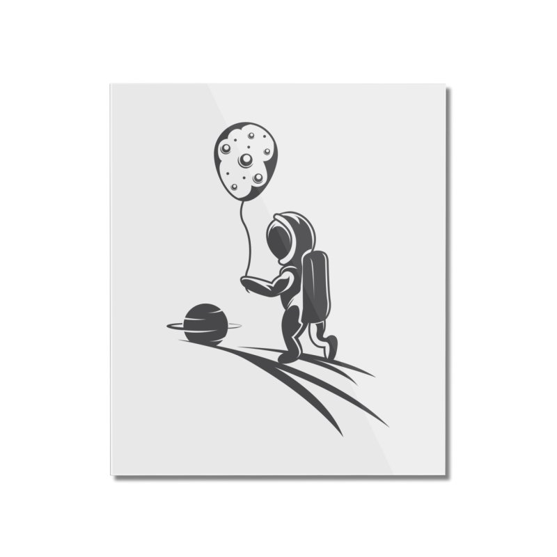 Moonman Home Mounted Acrylic Print by Pbatu's Artist Shop