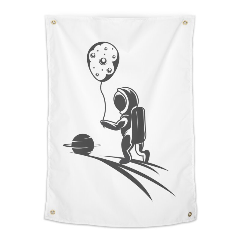 Moonman Home Tapestry by Pbatu's Artist Shop