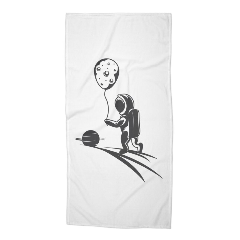 Moonman Accessories Beach Towel by Pbatu's Artist Shop