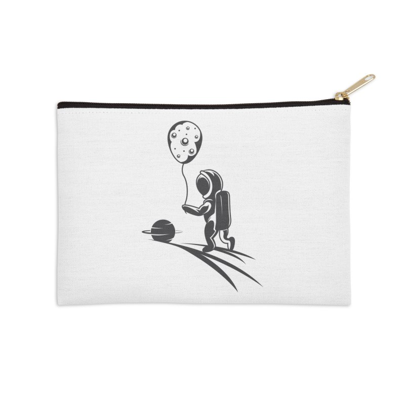 Moonman Accessories Zip Pouch by Pbatu's Artist Shop