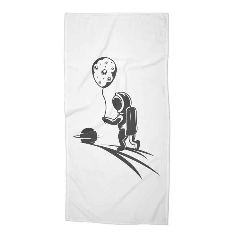 Moonman Accessories Beach Towel by Pbatu's Artist Shop