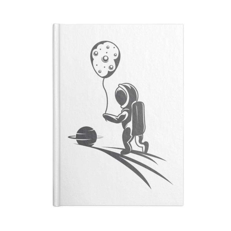Moonman Accessories Lined Journal Notebook by Pbatu's Artist Shop
