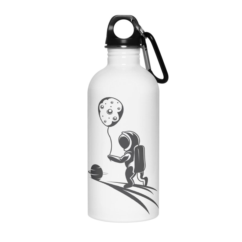 Moonman Accessories Water Bottle by Pbatu's Artist Shop