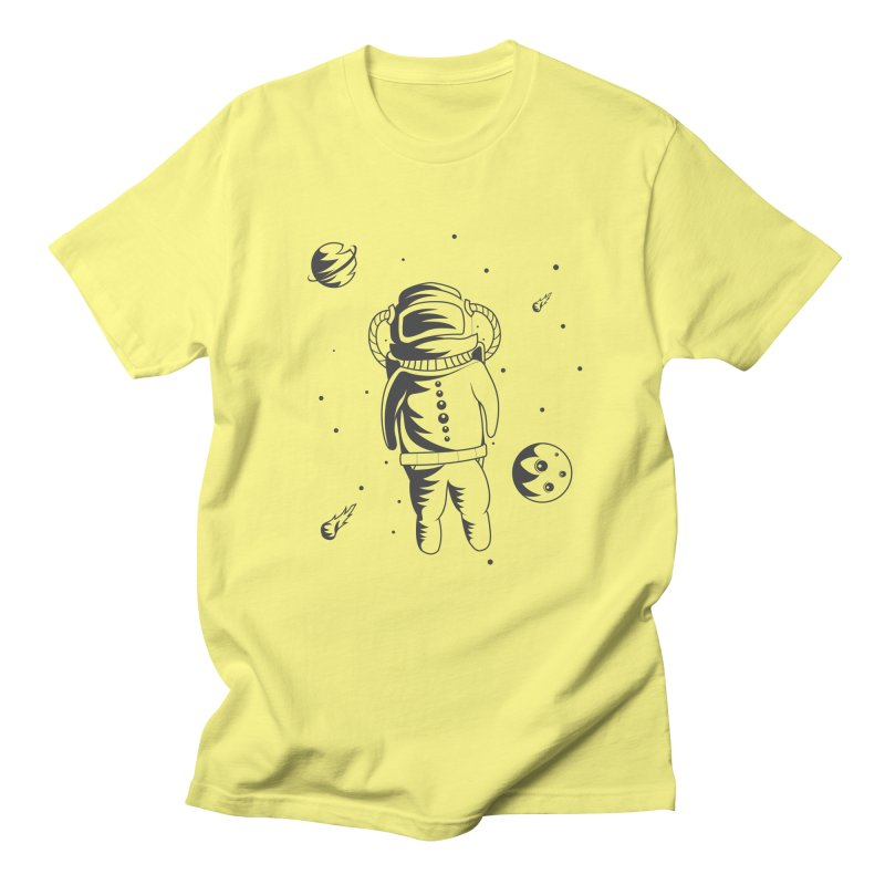 Cosmonaut in Space Men's T-Shirt by Pbatu's Artist Shop
