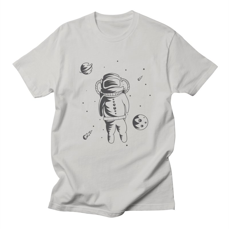 Cosmonaut in Space Men's Regular T-Shirt by Pbatu's Artist Shop