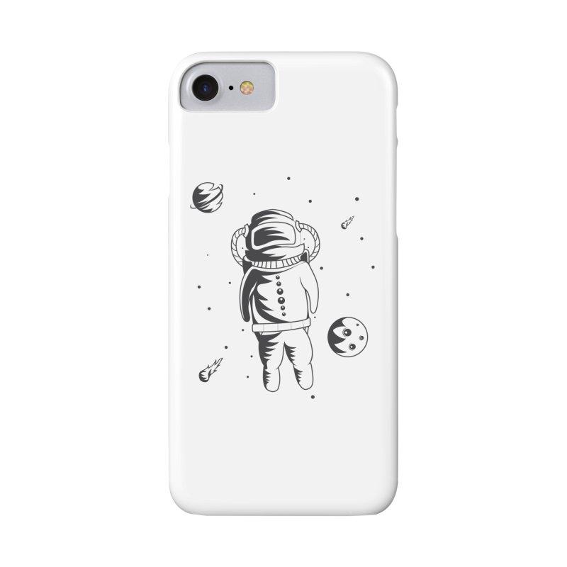 Cosmonaut in Space Accessories Phone Case by Pbatu's Artist Shop