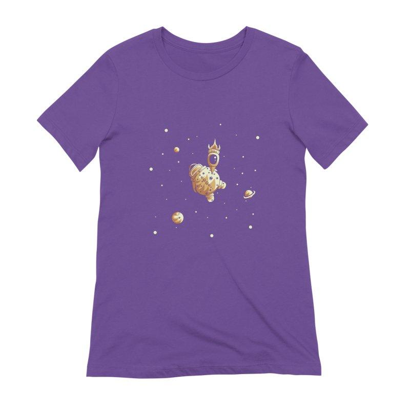 Space exploration Women's T-Shirt by Pbatu's Artist Shop