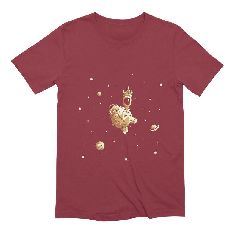 Space exploration Men's T-Shirt by Pbatu's Artist Shop