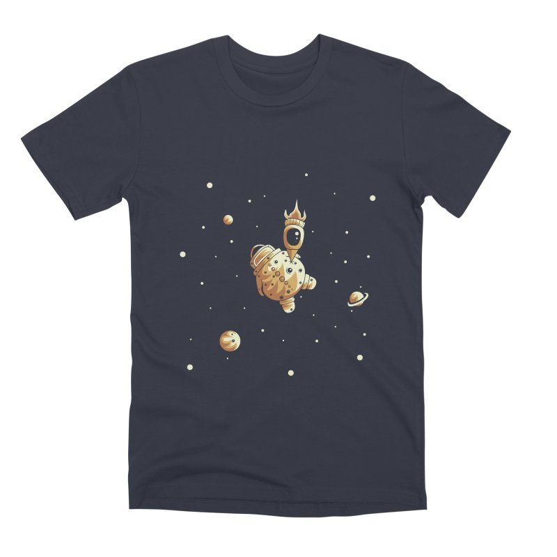 Space exploration Men's Premium T-Shirt by Pbatu's Artist Shop