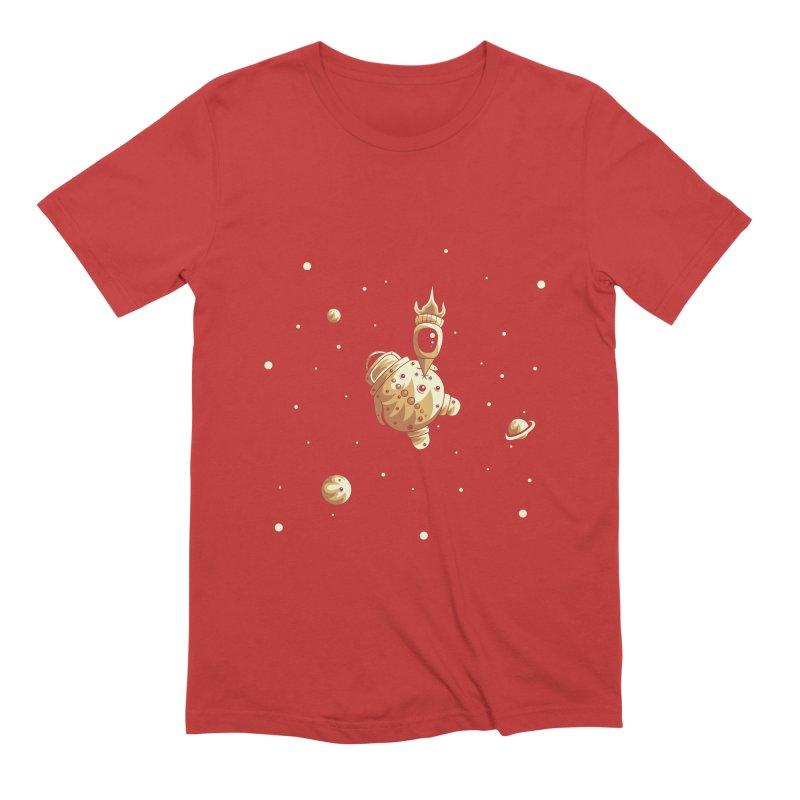 Space exploration Men's Extra Soft T-Shirt by Pbatu's Artist Shop
