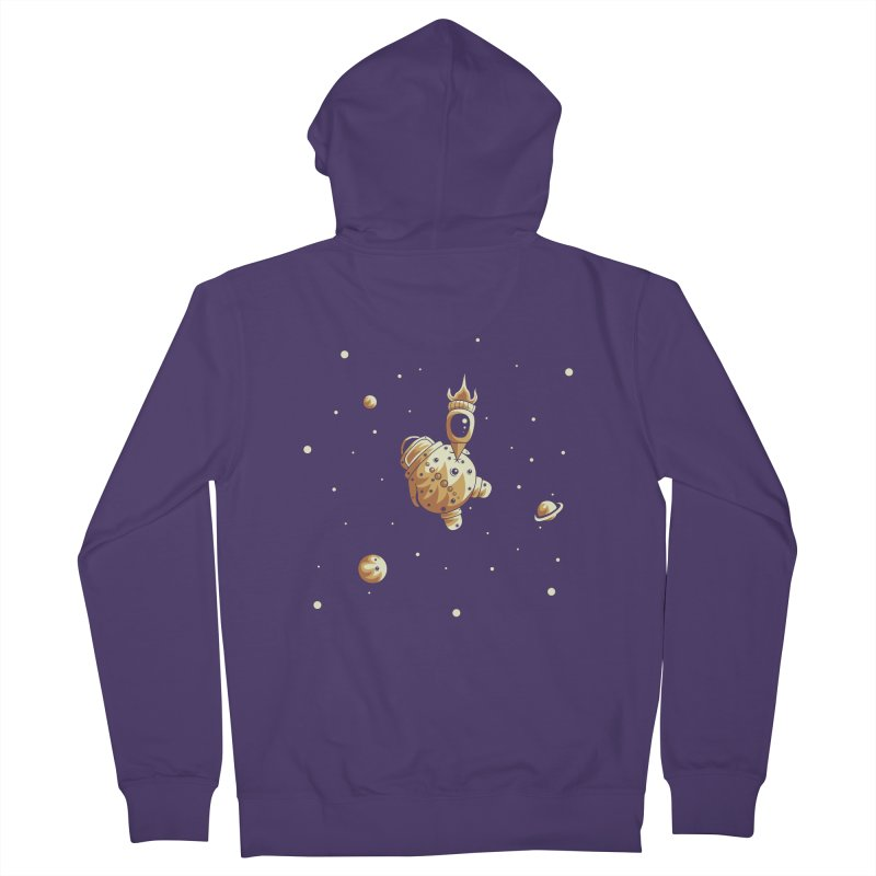 Space exploration Women's Zip-Up Hoody by Pbatu's Artist Shop