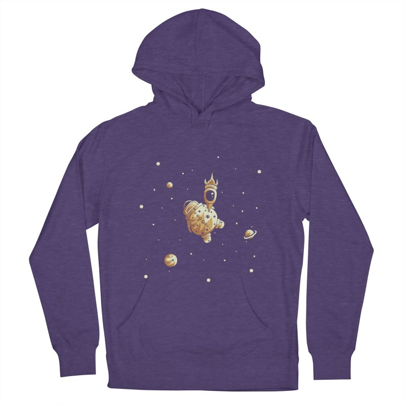 Space exploration Women's French Terry Pullover Hoody by Pbatu's Artist Shop