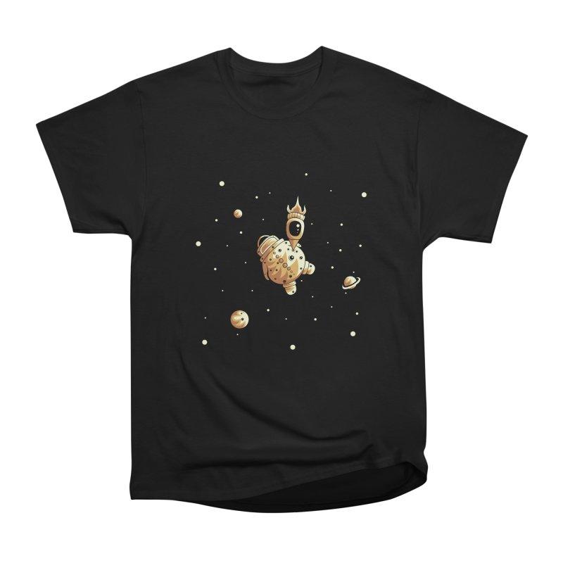 Space exploration Men's Heavyweight T-Shirt by Pbatu's Artist Shop