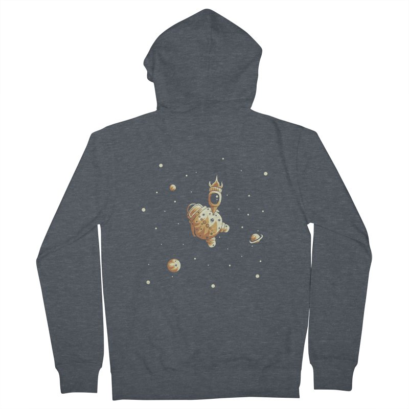 Space exploration Women's French Terry Zip-Up Hoody by Pbatu's Artist Shop