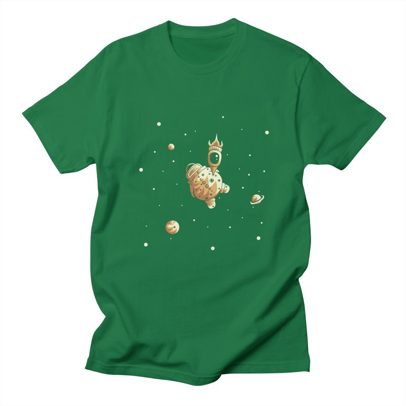 Space exploration Women's Regular Unisex T-Shirt by Pbatu's Artist Shop
