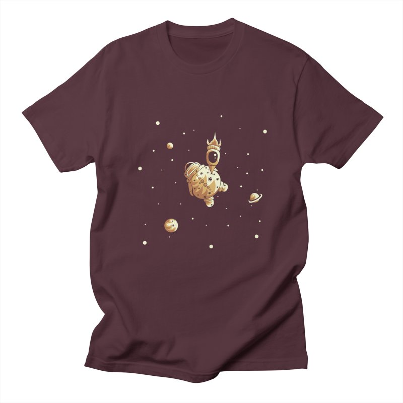 Space exploration Women's Regular Unisex T-Shirt by Pbatu's Artist Shop