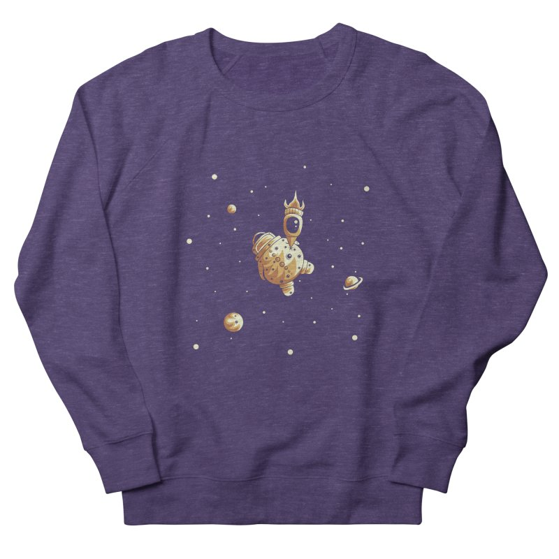 Space exploration Women's French Terry Sweatshirt by Pbatu's Artist Shop