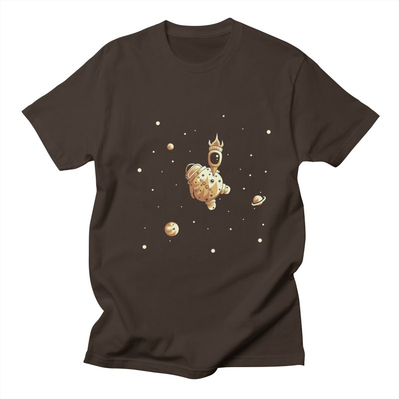 Space exploration Men's Regular T-Shirt by Pbatu's Artist Shop