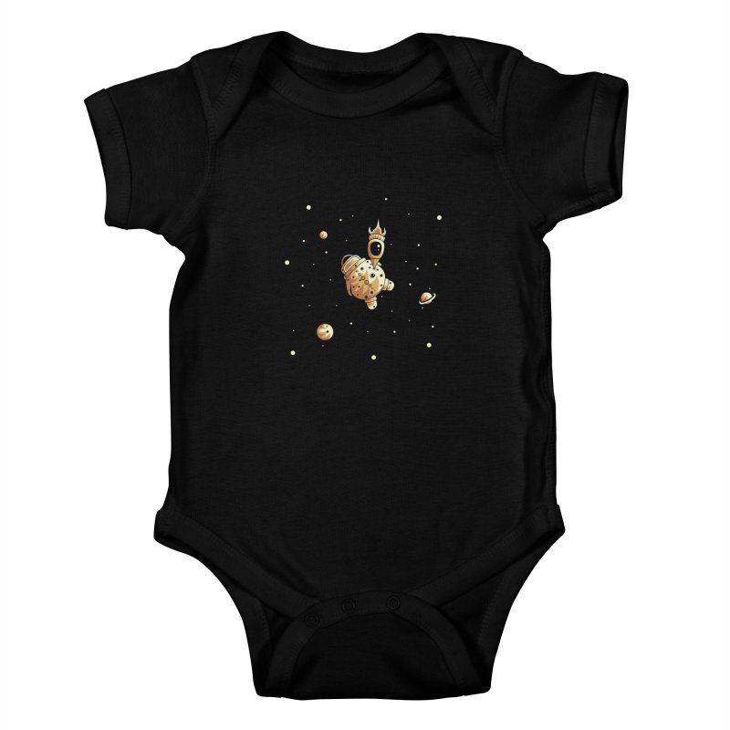 Space exploration Kids Baby Bodysuit by Pbatu's Artist Shop