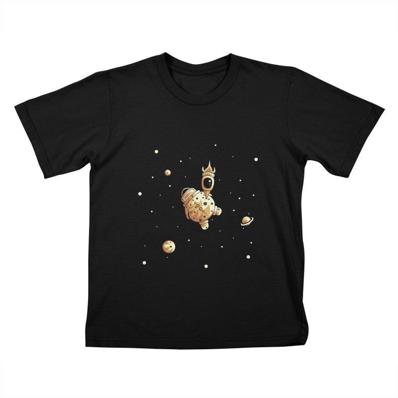 Space exploration Kids T-Shirt by Pbatu's Artist Shop