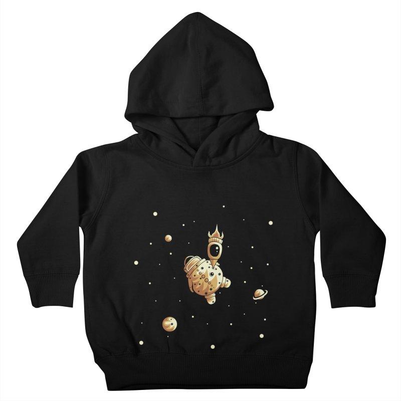 Space exploration Kids Toddler Pullover Hoody by Pbatu's Artist Shop