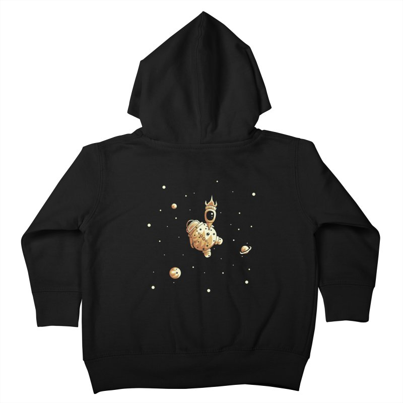 Space exploration Kids Toddler Zip-Up Hoody by Pbatu's Artist Shop