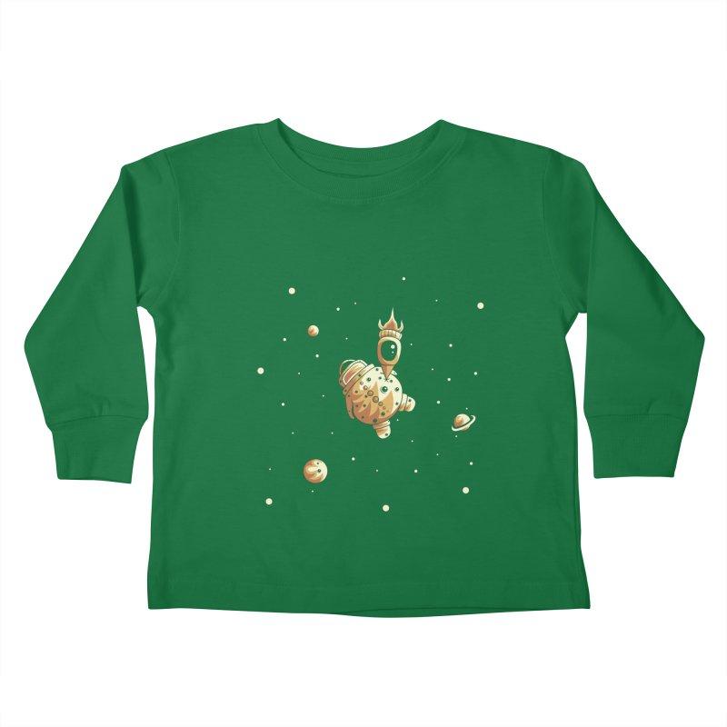 Space exploration Kids Toddler Longsleeve T-Shirt by Pbatu's Artist Shop