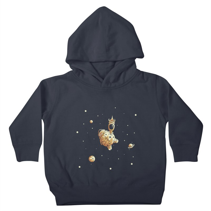 Space exploration Kids Toddler Pullover Hoody by Pbatu's Artist Shop