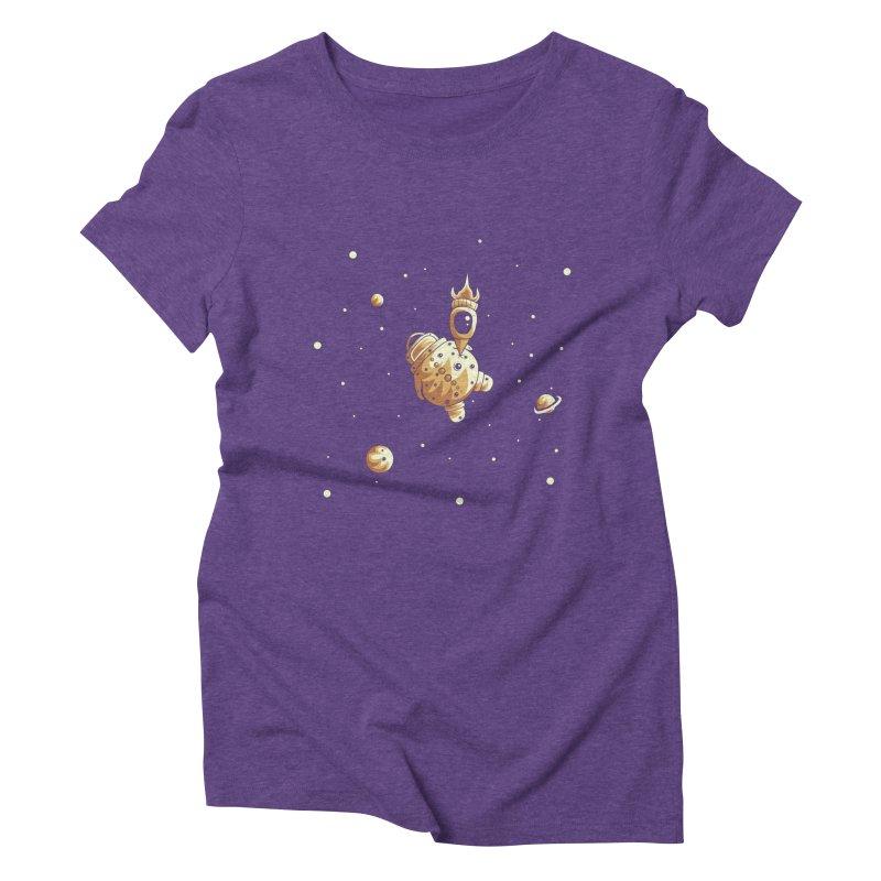 Space exploration Women's Triblend T-Shirt by Pbatu's Artist Shop