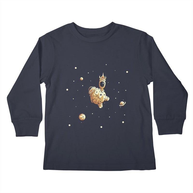 Space exploration Kids Longsleeve T-Shirt by Pbatu's Artist Shop