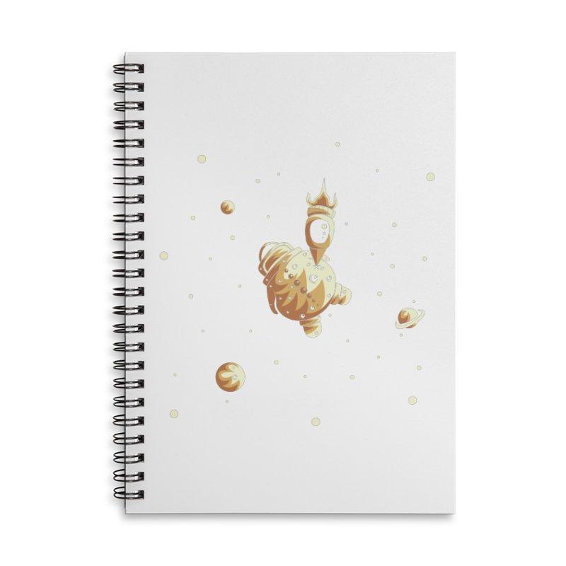 Space exploration Accessories Lined Spiral Notebook by Pbatu's Artist Shop