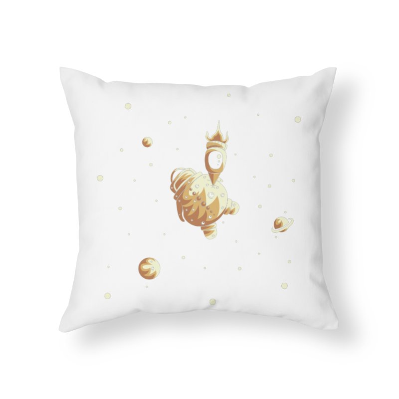 Space exploration Home Throw Pillow by Pbatu's Artist Shop