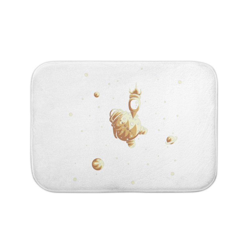 Space exploration Home Bath Mat by Pbatu's Artist Shop
