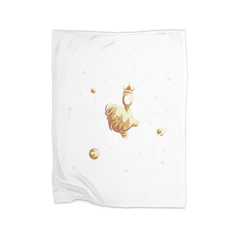Space exploration Home Fleece Blanket Blanket by Pbatu's Artist Shop